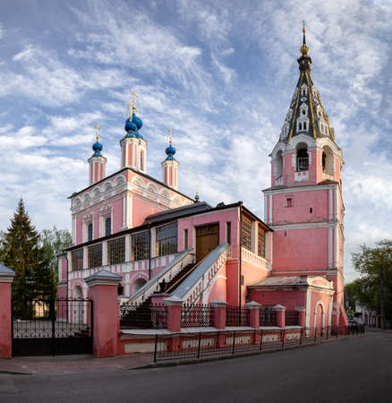 Beautiful old cathedral of St. George in Kaluga, Russia