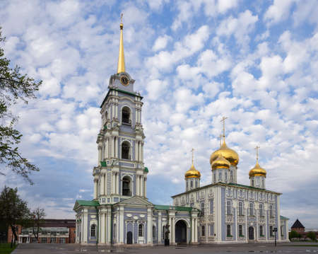 Assumption Cathedral in the Tula Kremlin, Russia 免版税图像