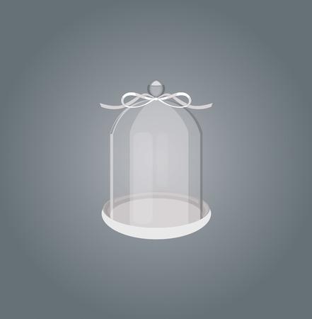 glassware: Glassware with ribbon