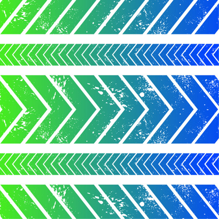 Arrows gradient seamless pattern backgroudn with clipped spots