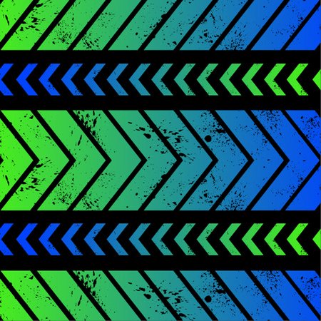 Arrows gradient seamless pattern backgroudn with clipped spots o