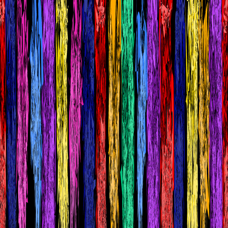 Abstract colorful lines pattern on white background.