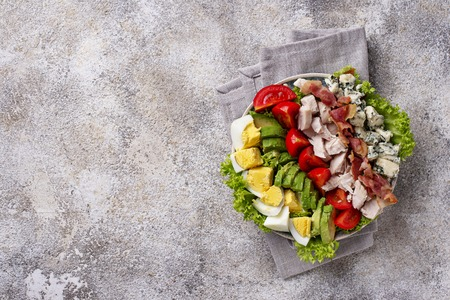 Cobb salad,  traditional American food
