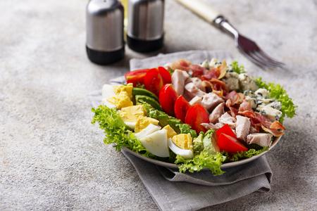 Cobb salad,  traditional American food