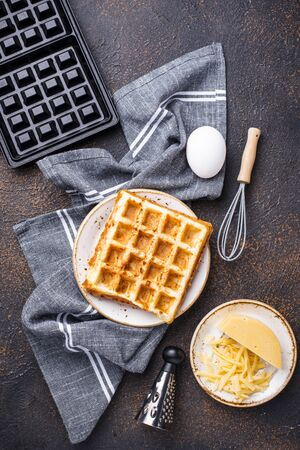 Ingredient for cooking cheese waffle