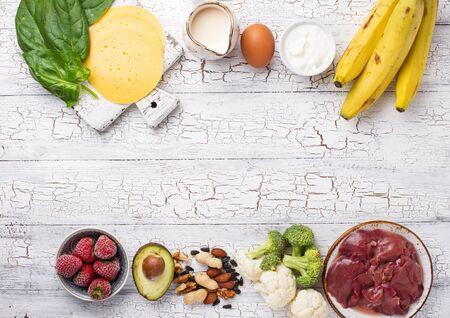 Food rich in biotin. Natural sources of vitamin B7
