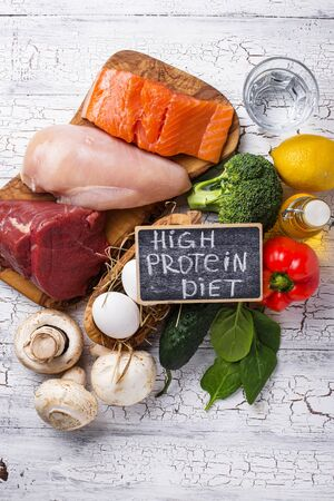Product for high protein diet