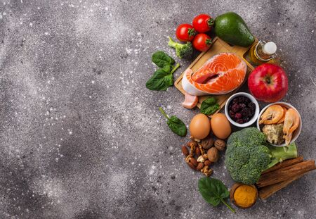 Food for brain and good memory. Prevention of senile dementia