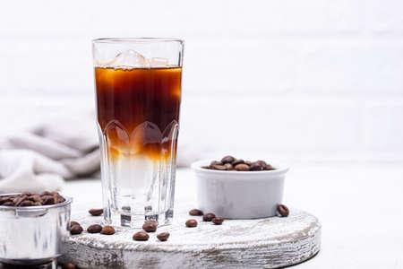 Espresso tonic, trendy coffee drink