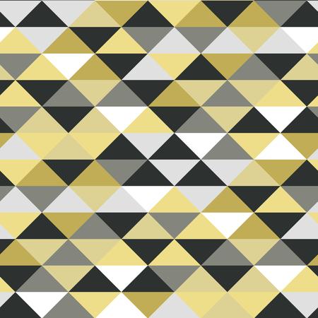Abstract seamles vector metallic pattern graphic illustration Stock Illustratie