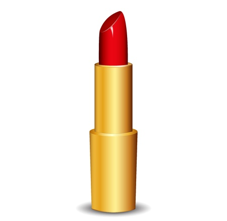 Vector illustration of lipstick