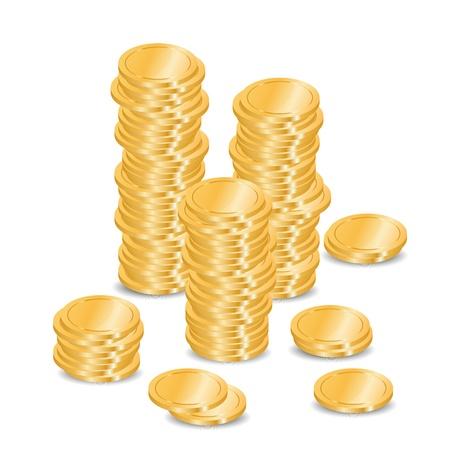 Vector coins Stock Vector - 11996666