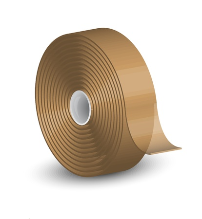 Vector illustration of sellotape Vector