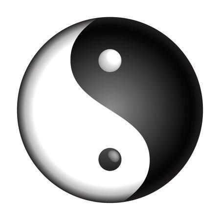 Yin Yang Stock Vector - 12149979