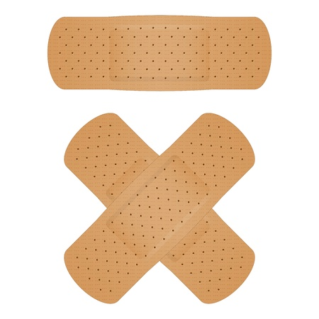 Vector illustration of bandage Vector