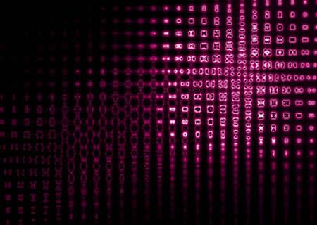 dance floor: Background with purple lights