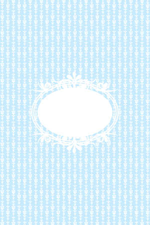 wall paper texture: Vector vintage blue background Illustration