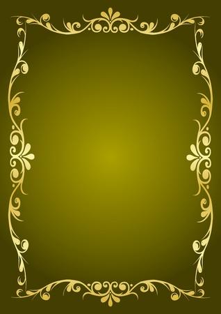 Luxury green background Vector