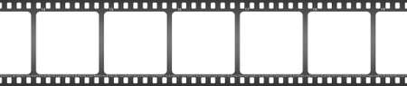 Vector illustration of isolated film   Vector