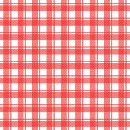 illustration of tablecloth Vector