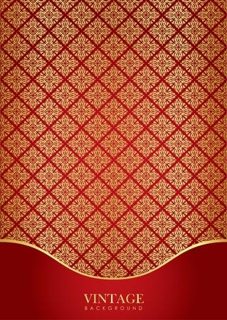 turkish rugs: Red   gold luxury background