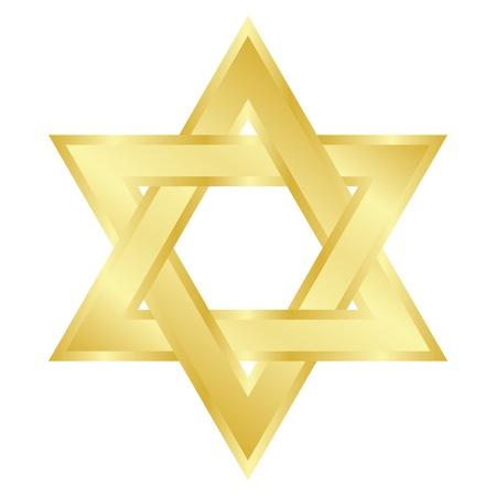 stella di davide: illustrazione della stella di David Magen David