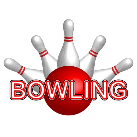 Bowling   Stock Vector - 12670595