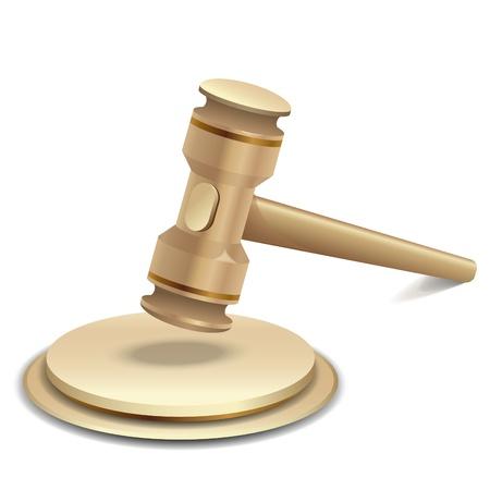 prosecutor: illustrazione del martelletto