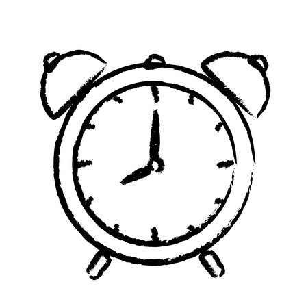 ringing: illustration of alarm clock