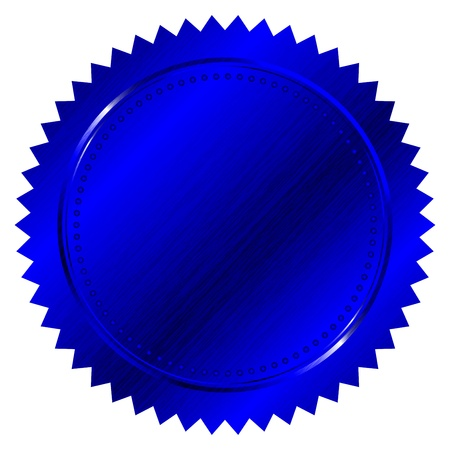 Blue seal Vector