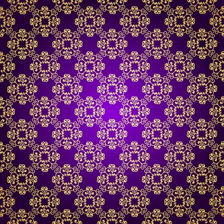 Purple   gold background