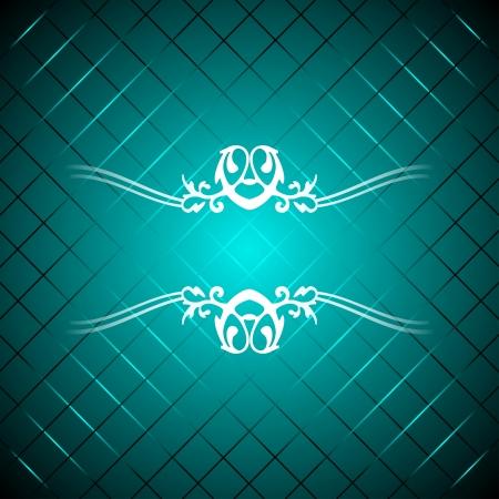 アクアマリン: 青緑色の豪華な背景