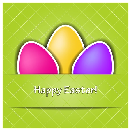 Vector Happy Easter background Vector