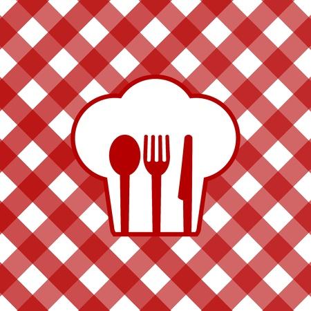 manteles: Ilustraci�n vectorial de sobremesa Vectores