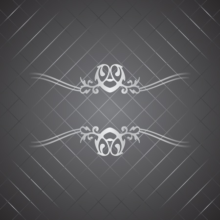 Vector silver luxury background Stock Vector - 13046436