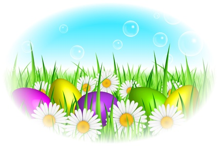 Vector Easter background Vector