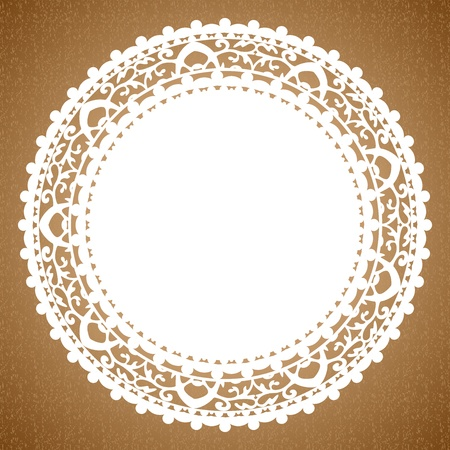 Vector background with napkin Vector