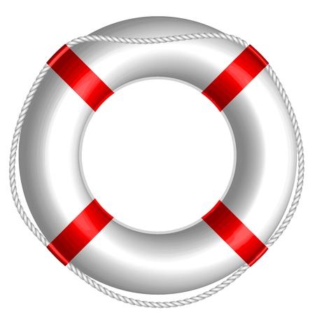 Ilustración vectorial de Salvavidas Ilustración de vector