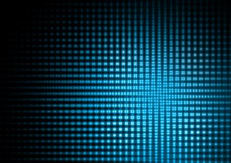 fiestas electronicas: Resumen luces azules Foto de archivo