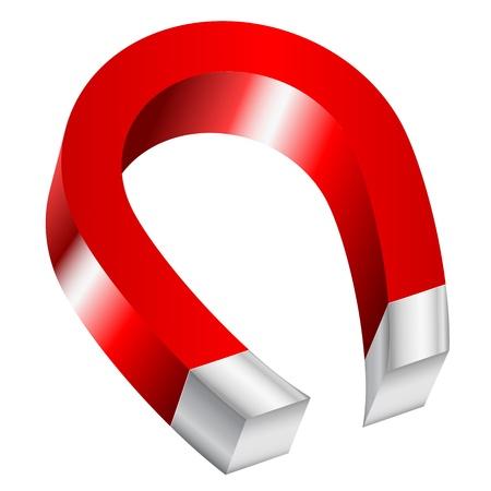 magnetismo: Illustrazione del magnete