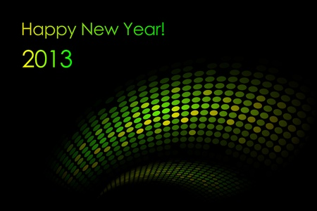 glowing skin: Vector green  snake  background  2013-year of the snake