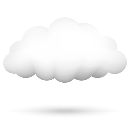 Vector illustration of cloud Vector