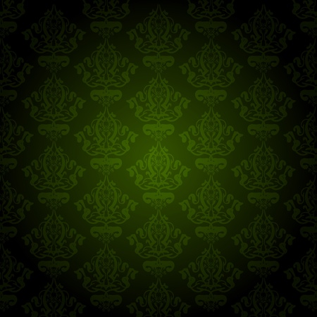 green wallpaper Stock Vector - 13531608