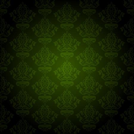 green wallpaper Stock Vector - 13531608