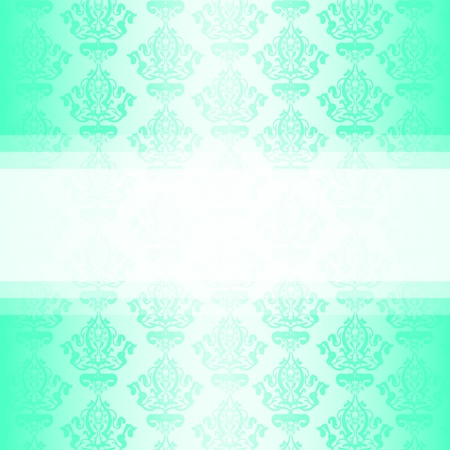 turquoise wallpaper Stock Vector - 13531610