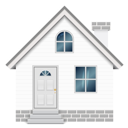 small house: illustration of house Illustration