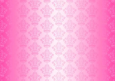 rosa Tapete