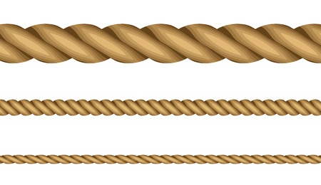rope background: illustration of ropes Illustration