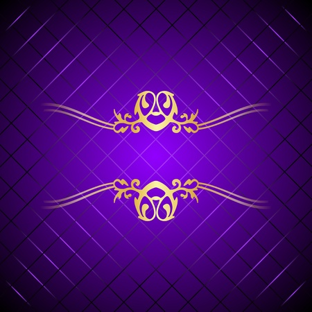 purple and gold: purple   gold background Illustration