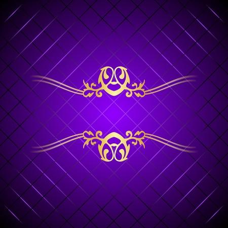 purple   gold background Illustration